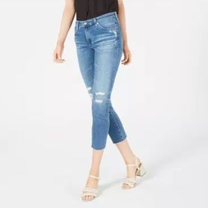 AG Jeans Prima Cropped Skinny Jeans NEW SZ 28